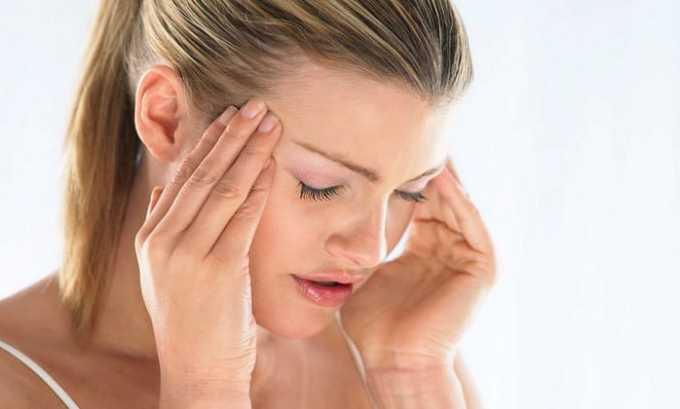 Лекарственное средство запрещено к применению при высоком внутричерепном давлении