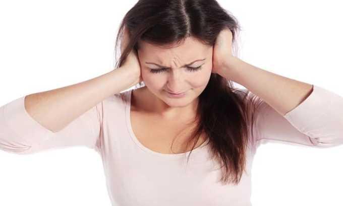 Передозировка проявляется шумом в ушах
