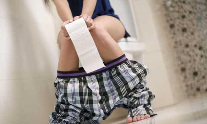 Прием Венолека может вызвать диарею