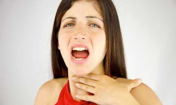 Лекарственное средство может вызвать охриплость голоса