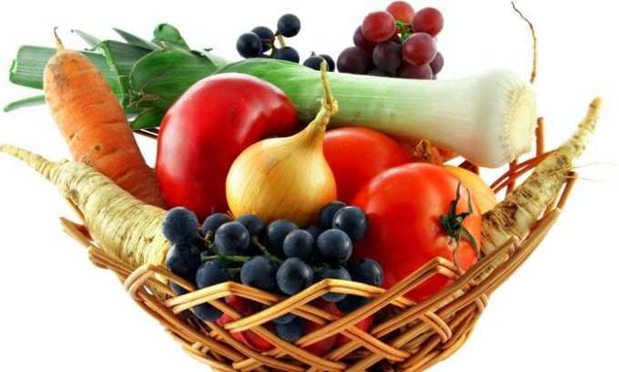 Для предотвращения варикозной болезни в матке рекомендуется включить в рацион большое количество овощей и фруктов