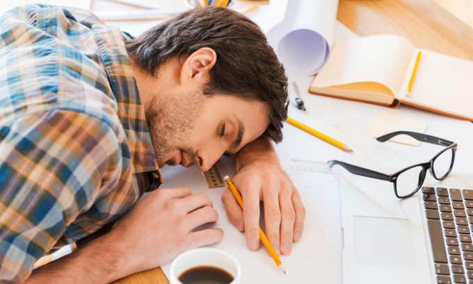 Препарат назначают при хроническом чувстве усталости