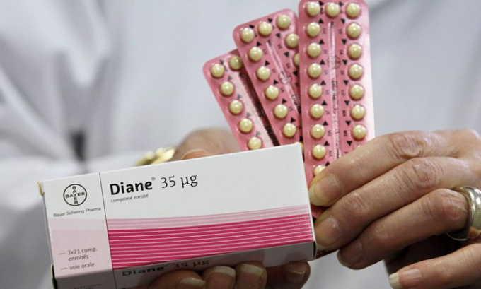 Действующее вещество оральных контрацептив влияет на уровень гормонов