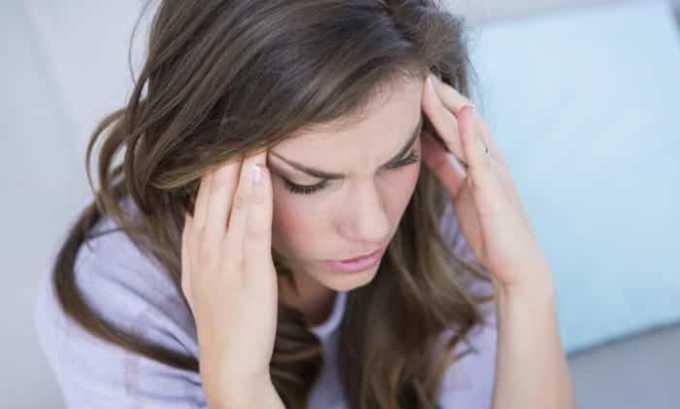 Также вероятным явлением считается головная боль