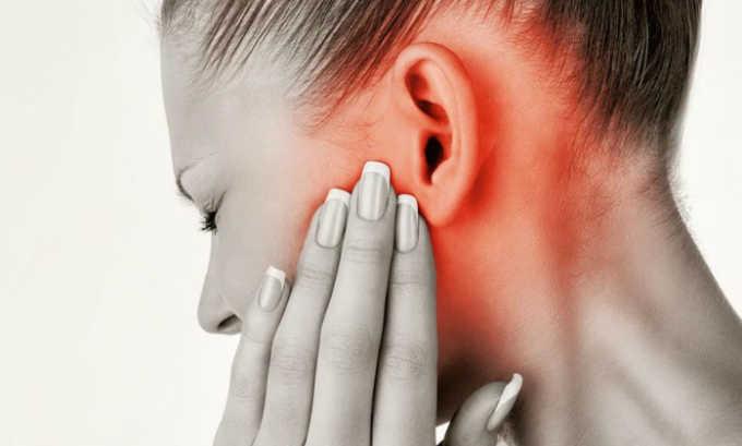 Врачи назначают Трентал 400 при сосудистых патологиях внутреннего уха