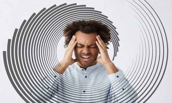 В некоторых случаях пациенты во время лечения медикаментом жаловались на головокружения