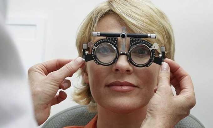 У пациентов, которые пользуются лекарством, чаще всего отмечается ухудшение зрения