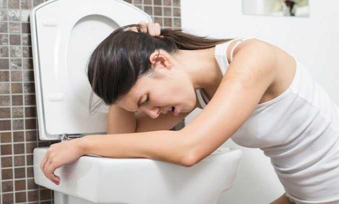 Во время лечения Нормовеном могут появиться тошнота и рвота
