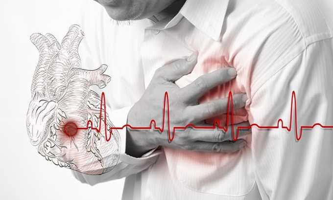 Прием препарата может спровоцировать болезненные ощущения и покалывания в груди