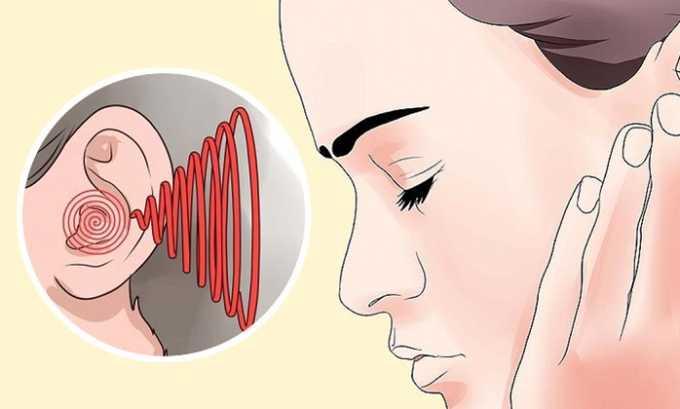 После приема лекарства у некоторых пациентов появляется гул в ушах