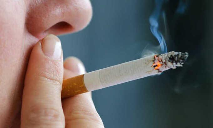 Курение может снижать эффективность медикамента
