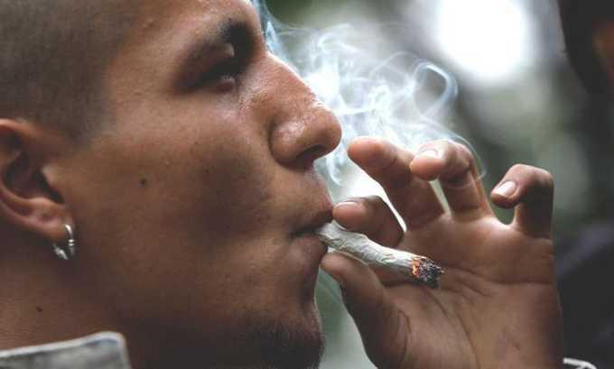 Лекарство принимают при курении