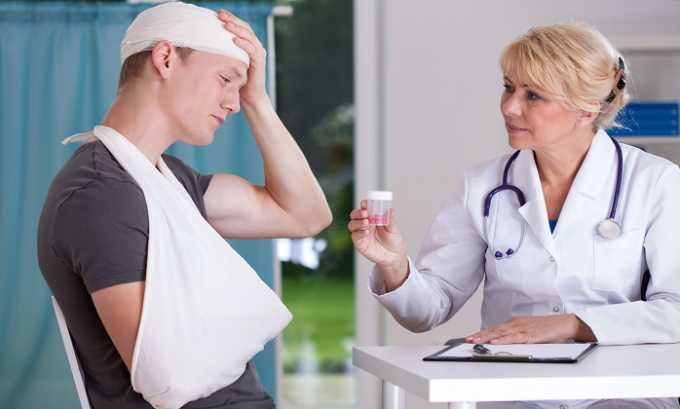 Таблетки Актовегина назначают для лечения последствий черепно-мозговых травм