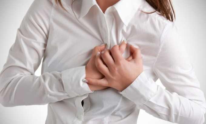 После приема Пентоксифиллина 400 возможны боли в сердце