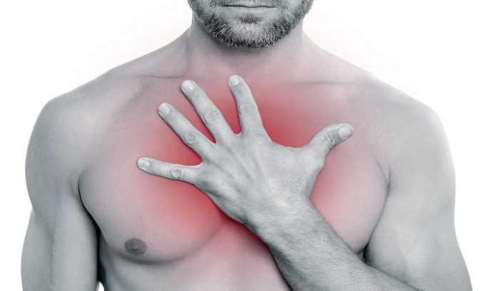 Во время приема препарата пациента могут беспокоить боли за грудиной