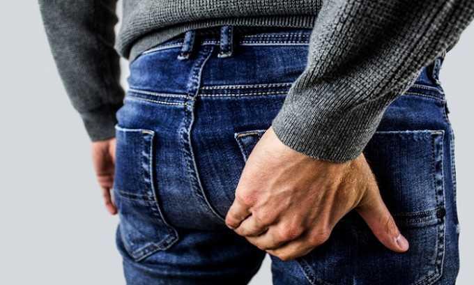 Нормовен назначают при болезненности, жжении и кровоточивость в области заднего прохода