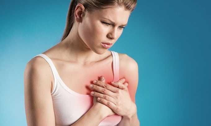 Заболевания сердечно-сосудистой системы могут спровоцировать появление столь неприятного недуга у женщины