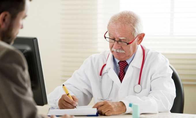 При появлении побочной симптоматики нужно обратиться к врачу который скорректирует дозировку