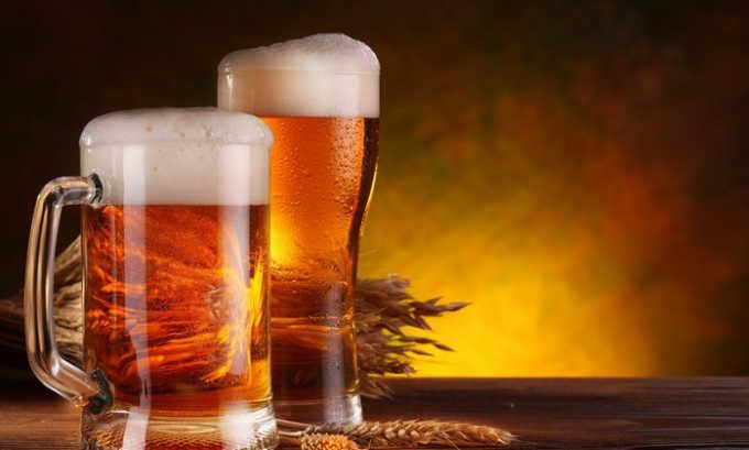 Статины несовместимы со спиртными напитками