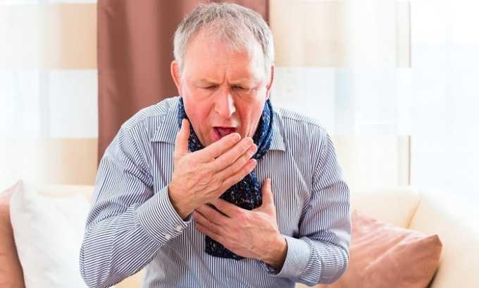 Также в некоторых случаях препарат вызывает затяжной кашель