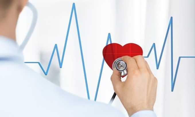 С осторожностью таблетки назначаются при тяжелых нарушениях сердечного ритма