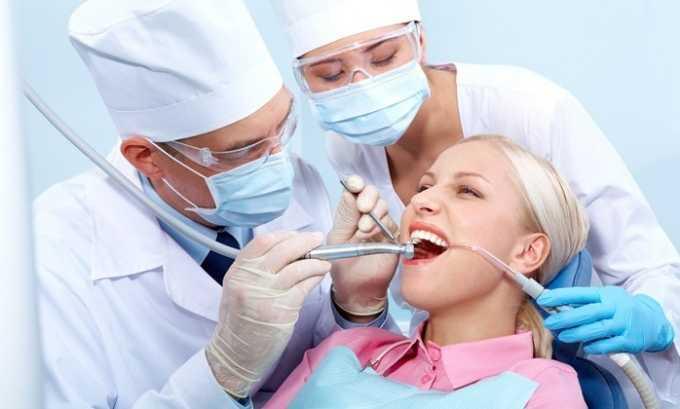 Препарат устраняет болевой синдром после стоматологического вмешательства