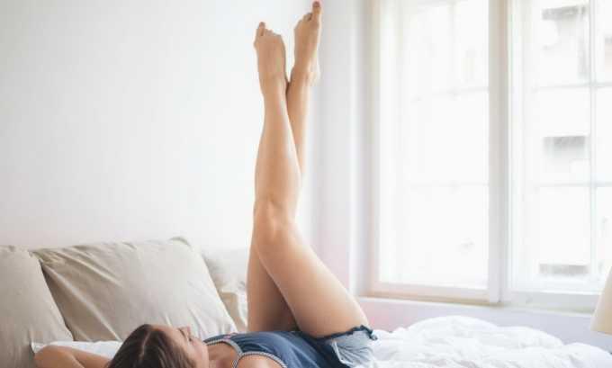 Накладывать бинт рекомендуется с утра до принятия вертикального положения