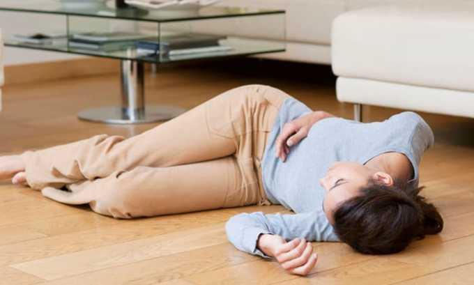 После приема Пентоксифиллина в превышенных дозах возможна потеря сознания