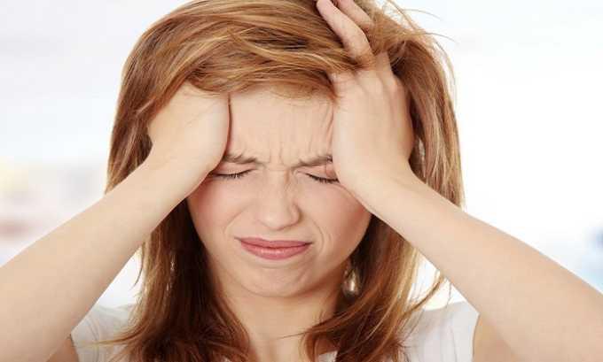 Побочное действие Нормовена может проявиться головной болью и головокружением