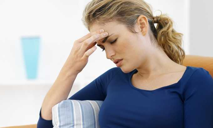 Сермион 10 назначается при мигренях