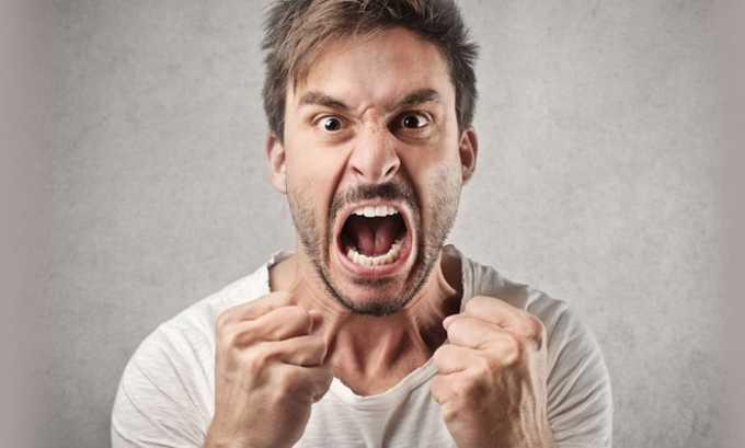 Побочным эффектом от приема препарата может быть агрессия