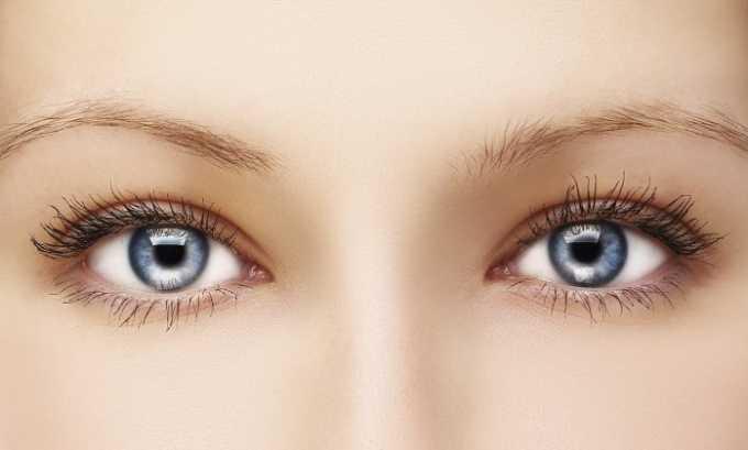 При использовании геля нужно избегать его проникновения на глаза