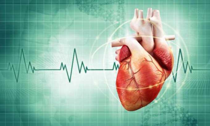 Необходимо соблюдать осторожность при назначении медикамента на фоне болезни сердца