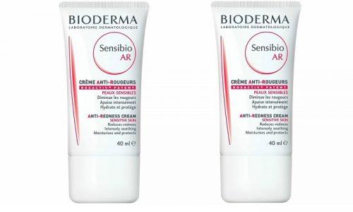 Bioderma Sensibio AR Cream - питательный крем, содержащий витамины, минералы, действие которых направлено на укрепление стенок капилляров, лечение сосудистых звёздочек