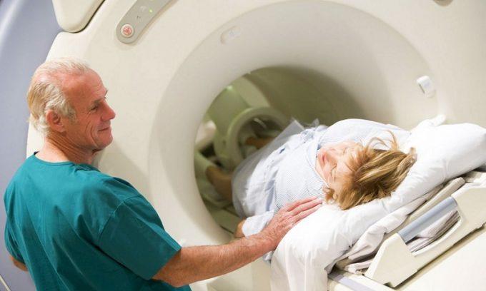 Компьютерная томография может проводиться для диагностики тромбоза
