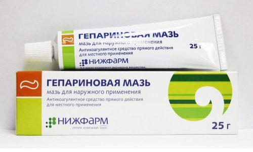 При лечении варикоза полового члена назначаются антикоагулянты, в качестве которых выступают мази или гели