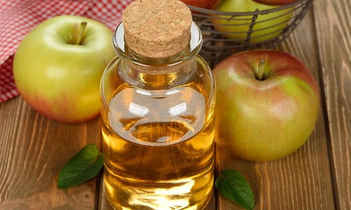 как лечить вены на ногах яблочным уксусом
