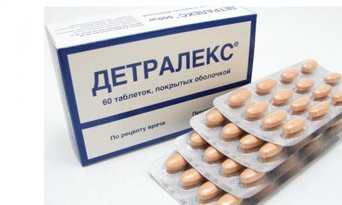 Детралекс применяется для лечения варикоза ног на любой стадии развития патологии с целью разжижения крови, уменьшения растяжения вен, повышения их тонуса