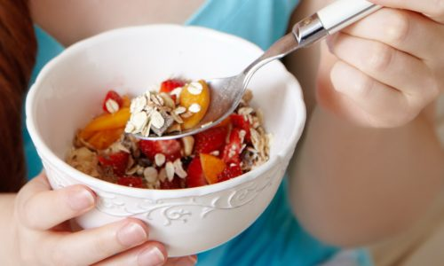 Сбалансированное питание и активный образ жизни — хорошая профилактика заболевания