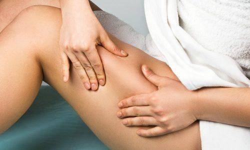 Самомассаж — щадящий способ устранить целлюлит при варикозе