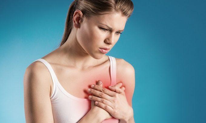 В некоторых случаях купероз возникает у женщин, которые страдают от сердечно-сосудистых заболеваний