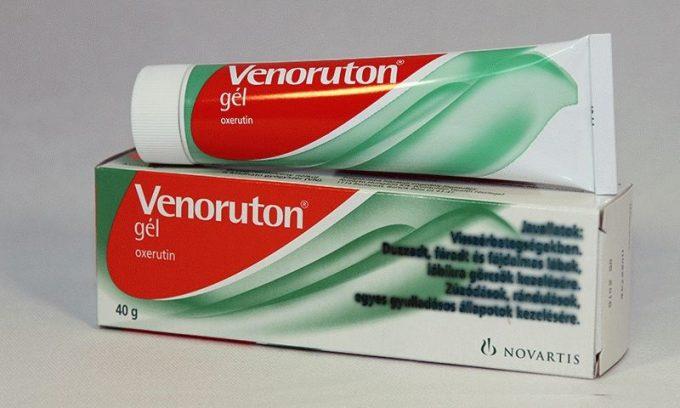 Венорутон оказывает ангиопротекторное и флеботонизирующее действие