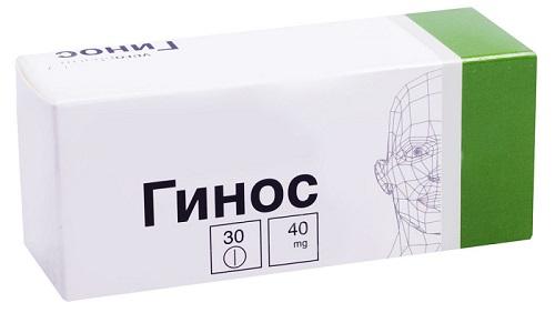 Гинос является востребованным препаратом, оказывающим положительное влияние на сосуды ГМ