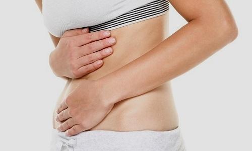 При системном применении Олфена могут появиться боли в животе
