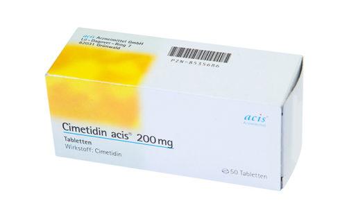 При взаимодействии с Циметидином усиливаются побочные эффекты Пентоксифиллина