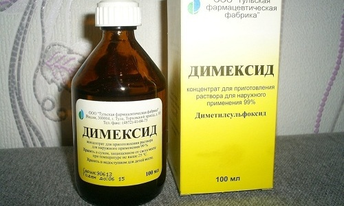 Для устранения болей в мышцах и суставах, при ожогах, травмах, ушибах, аллергических проявлениях используют Димексид