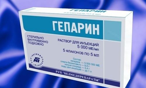 Препарат Димексид сочетается с Гепарином