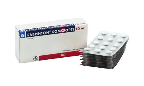 Кавинтон Комфорте - лекарственный препарат, используемый в лечении неврологических и сердечно-сосудистых патологий