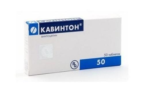 Препарат Кавинтон форте применяется для коррекции нарушений церебрального кровообращения