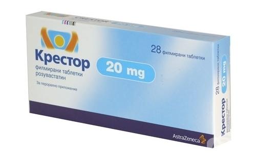 Аналог Розувастатина С3 - препарат Крестор
